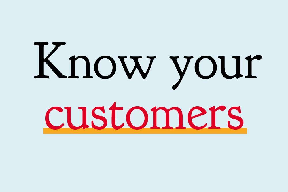 The first step to great marketing: know your customer
