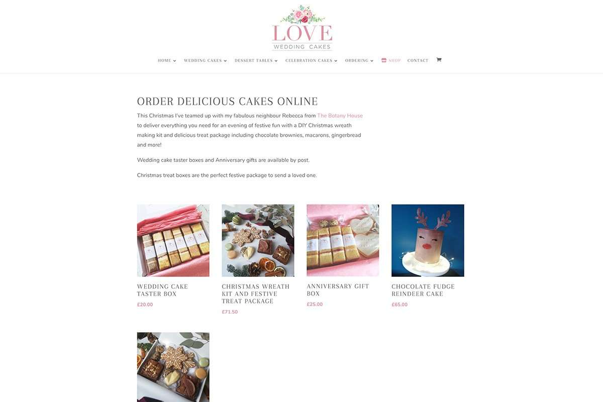 Love Wedding Cakes Shop