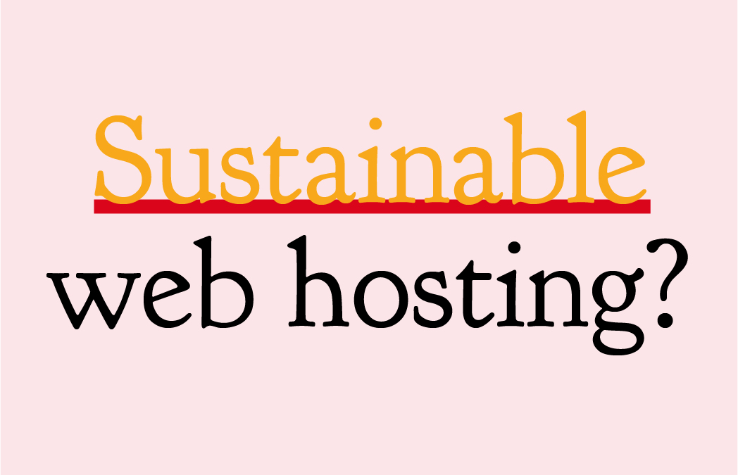Sustainable Website Hosting at Example Marketing